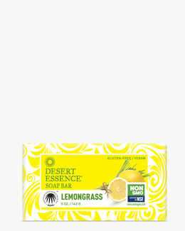 Gluten-Free and Vegan Lemongrass Hard Soap Bar