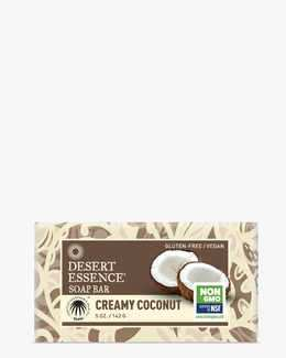 Image of Desert Essence Creamy Coconut Soap Bar