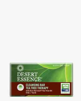 Tea Tree Therapy Cleansing Bar with Eco-Harvest Tea Tree & Jojoba Oil