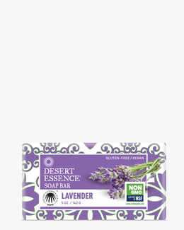 Vegan Lavender Soap Bar with Eco-Harvest Tea Tree Oil