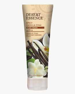 Image of Desert Essence Spicy Vanilla Chai Body Wash