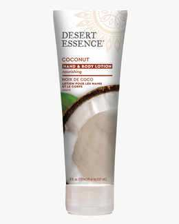 Nourishing Coconut Hand and Body Lotion with Jojoba Oil